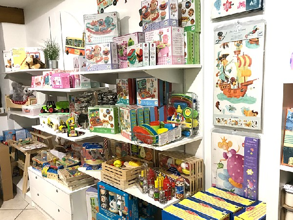 Les jeux et jouets de La Cabane de Néoli